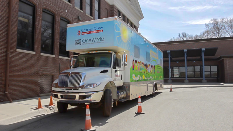 United Way of the Midlands Awards Charles Drew and OneWorld Funding For Pediatric Mobile Unit